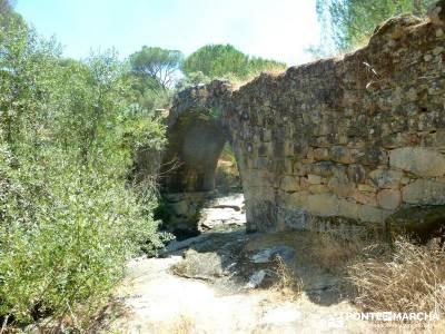 Puentes romanos Valle del Tiétar; excursiones organizadas desde madrid;senderismo viajes